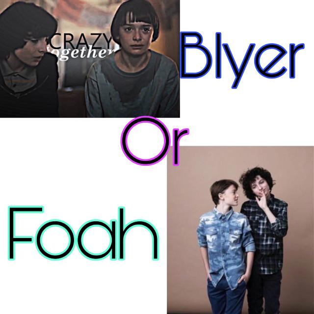 Blyer or Foah