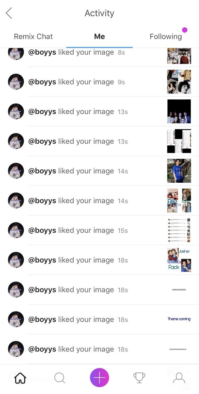 Thank u @boyys