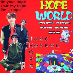 bts junghoseok jhope hopeworld