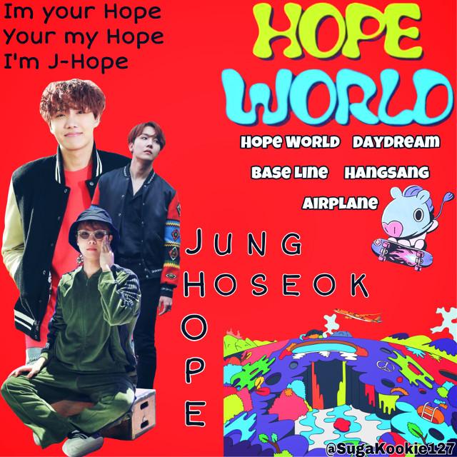 #bts #junghoseok #jhope #hopeworld