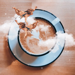 freetoedit cup cupofcoffee coffee cappuccino irccoffeetime