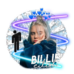 billieeilish blue summer aesthetic crownhearts