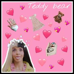 freetoedit mel melaniemartinez teddybear