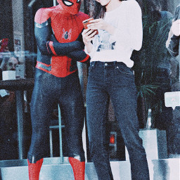 tomholland zendaya tom holland spiderman