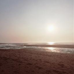freetoedit beach pretty sky ocean