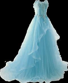 freetoedit dress formal fashion blue