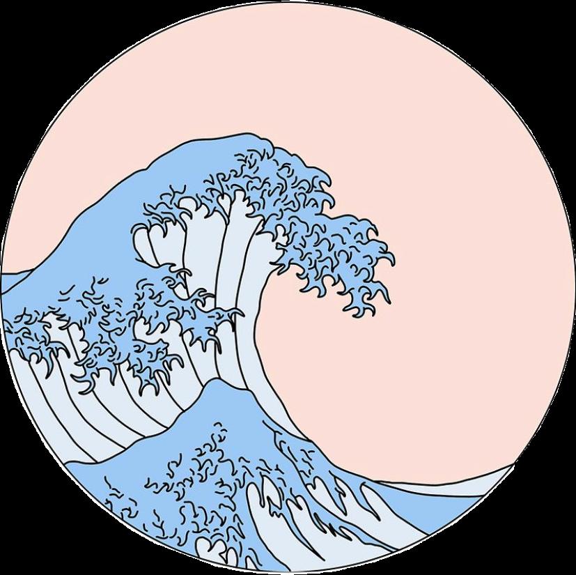 Vsco Thegreatwave Wave Aesthetic Freetoedit
