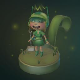 gamecharacter 3d 3dmodel princess character sculpt freetoedit