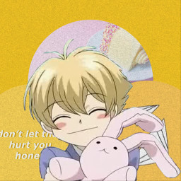 ohshc honey honeysenpai anime freetoedit