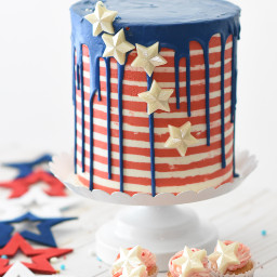 cake food colorful fourthofjuly july4th freetoedit