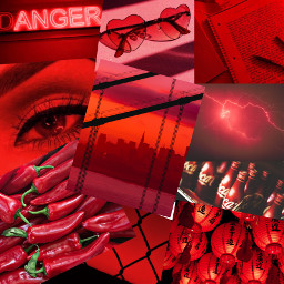 red aesthetic redaesthetic redpicture remix freetoedit