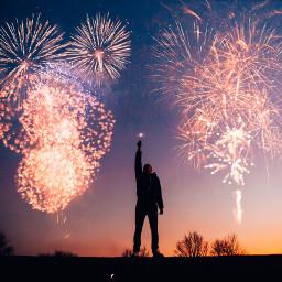 4thofjuly independenceday fireworks background freetoedit