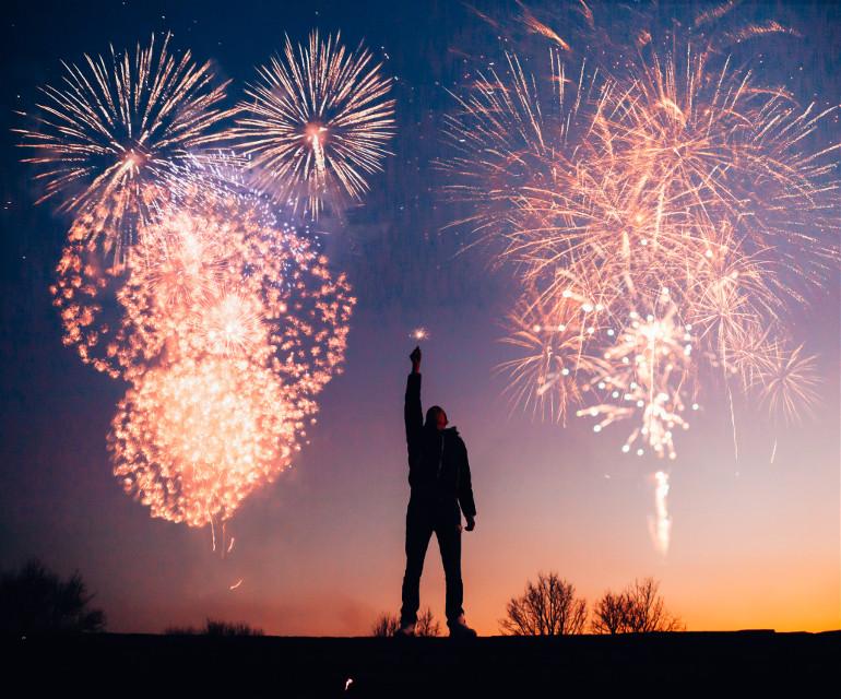 Create Magic! Unsplash (Public Domain) #4thofjuly #independenceday #fireworks #background #freetoedit