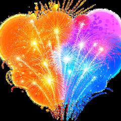 fireworks colorful 4thofjuly independenceday freetoedit