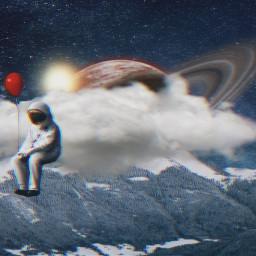freetoedit astronaut astronauta galaxy galaxia