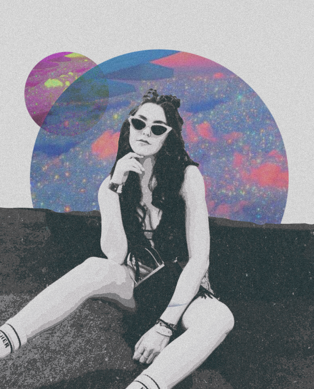 #freetoedit #dreamglow #girl #cosmos #madewithpicsart #edit #digitalart
