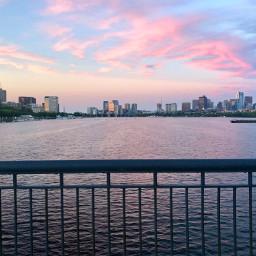 freetoedit sunset skyline cityscape seascape