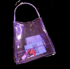 bag bags purple plastic cute freetoedit