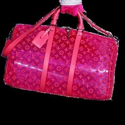 bag bags pink plastic cute freetoedit