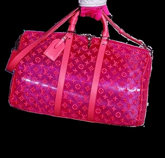 #bag #bags #pink #plastic #cute #aesthetic #png #pngs #moodboard  #louisvuitton #freetoedit