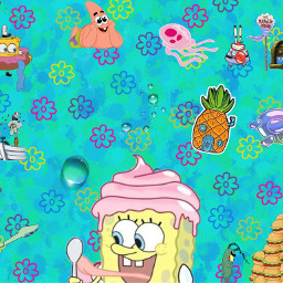 freetoedit spongebob spongebobsquarepants spongebobandpatrick