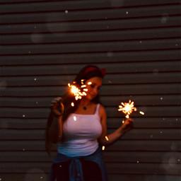 4thofjuly spark sparkle sparklers lovely