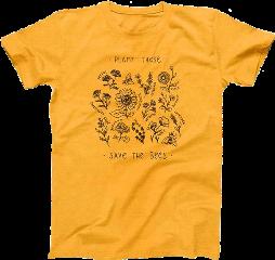 yellow shirt tshirt bee bees eco freetoedit