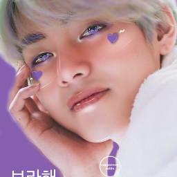 foreignwordscontest kimtaehyung taehyung borahae ibispaintx freetoedit