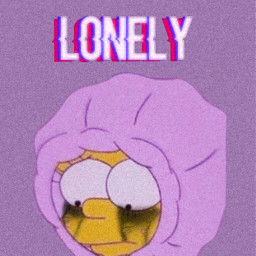 simpsons thesimpsons lonely sad depression freetoedit