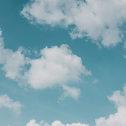 freetoedit background aesthetic blue clouds
