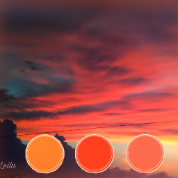 freetoedit ecpaletteshow pallette skyandclouds sunset
