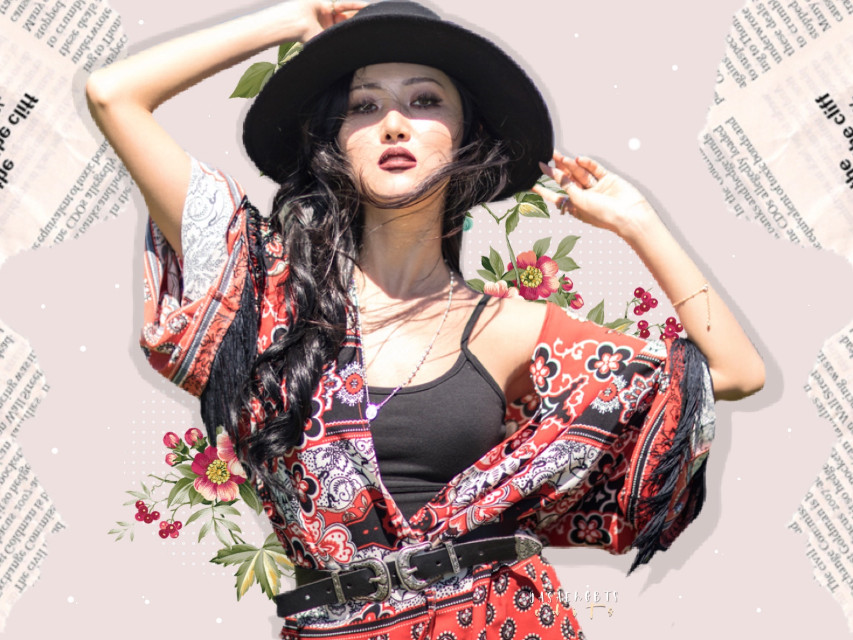 🐢 hwasa requested by:                 🌝 @_crazymiau  * request is close   ; CREDITS:: 🎋  [♚] hwasa sticker @/domileire [♔] dotting sticker @/banananmhilk [♚] flower sticker @/??     TAGS;    🐣🌱 #hwasa #ahnhyejin #mamamoo #kpop #kpopidol #pastel #edit  #freetoedit