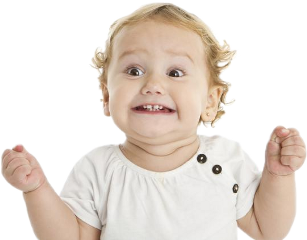 excited baby toddler freetoedit