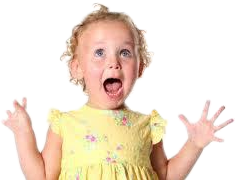omg excited girl toddler freetoedit