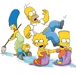 freetoedit thesimpsons homer bart marge