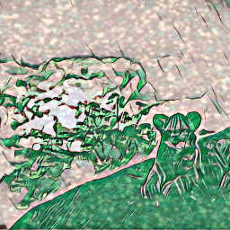irckingofthejungle kingofthejungle freetoedit greenmagiceffect lion