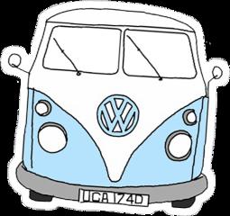 vsco aesthetic blue white van freetoedit