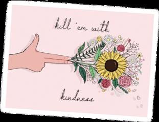 vsco aesthetic flowers kindness pink freetoedit
