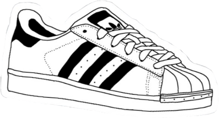 vsco aesthetic adidas shoe blackandwhite freetoedit