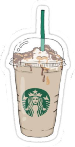 vsco aesthetic starbucks frappucino coffee freetoedit