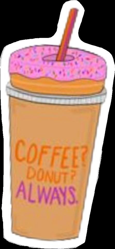 #vsco #aesthetic #coffee #dunkindonuts #donut #freetoedit