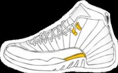 vsco aesthetic jordan shoe white freetoedit