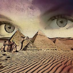 freetoedit desert sahara piramids piramides