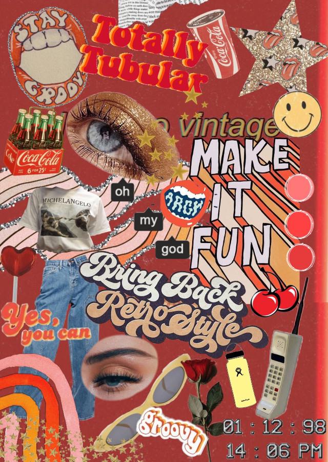#freetoedit #vintage #retro #80s #aesthetic #vsco #fun #rad #groovy