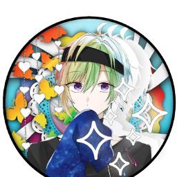icon anime iidarintarou wolfgame rainbow