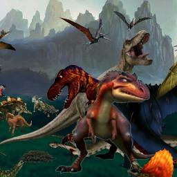 freetoedit rulers dinosaurworld dawn victory