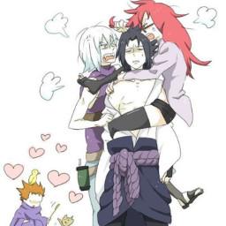 karin sasuke orochimaru mitsuki sugetsu