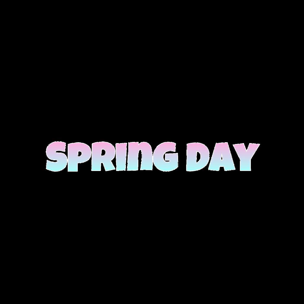 #bts #song #springday #freetoedit