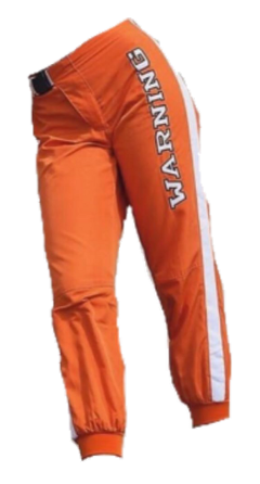 pants clothes orange orangeaesthetic warning freetoedit