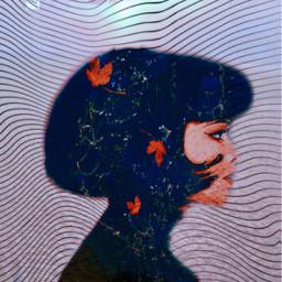 aesthetics aesthetic girl woman colored freetoedit